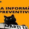 """Dacă e marți și e 13, este """"Ziua Informării Preventive"""" la Dorohoi"""