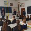 Poliţiştii de la Compartimentul Criminalitate și Antidrog Botoşani au fost ieri la Liceul Regina Maria din Dorohoi