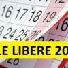 ZILE LIBERE 2019: câte minivacanţe au angajaţii anul viitor, câte sărbători legale pică în weekend