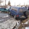 Accident! Impact frontal între un autoturism și un microbuz al Vămii Rădăuți Prut - FOTO