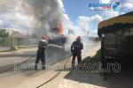 Incendiu excavator la Dorohoi_02