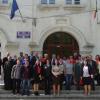 """Proiect educaţional transfrontalier România-Republica Moldova """"Să educăm împreună!"""" Broscăuţi-Șendriceni-Hincăuţi - FOTO"""