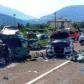 Accident grav cu 6 maşini şi 12 victime, provocat de o depăşire ratată a unui român, în Italia