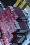 Ţigări și alcool de contrabandă confiscate de la un tânăr de 19 ani