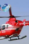 Elicopterul SMURD chemat la Botoșani pentru un pacient cu arsuri grave adus de la Spitalul Municipal Dorohoi