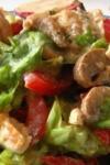 Salată de pui cu ciuperci