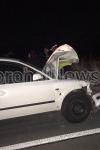 Accident cu două victime la Leorda! Un autoturism a spulberat o căruță - FOTO
