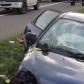 A ajuns la spital după ce mașina în care se afla s-a înfipt într-un cap de pod