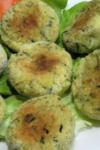 Pifteluțe de cartofi cu verdeață