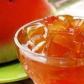 Dulceață din coajă de pepene roșu