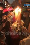 Slujba de Înviere: Mii de credincioși din Dorohoi și împrejurimi au luat Lumina Sfântă – FOTO