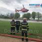Elicopterul SMURD a venit a doua oară la Dorohoi. Un dorohoian a fost preluat de urgență!