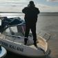 Plase monofilament îndepărtate din râul Prut de polițiștii de frontieră botoşăneni - FOTO