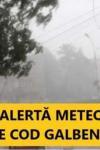 Cod Galben de ploi până mâine seară în Județul Botoșani