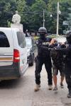 Urmărire cu mascați, elicopter și focuri de armă din Botoșani până în Suceava pentru reținerea a doi tineri - FOTO