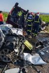 Tragedie pe E85, în Răcăciuni - Bacău. 7 persoane au murit în urma unui accident rutier - FOTO