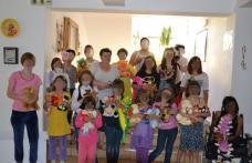 Copiii de la centrul de plasament Elena Doamna s-au bucurat de dărnicia botoșănenilor