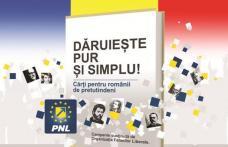"""30.000 de cărți pentru românii de peste Prut, rezultatul campaniei naționale PNL """"Dăruiește pur și simplu"""""""
