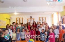 Întâlnire de suflet cu actorul dorohoian OCTAVIAN STRUNILĂ la Ibănești - FOTO