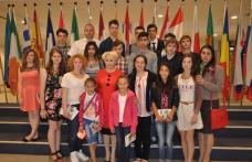 Olimpicii botoșăneni premiați de Doina Federovici au fost prezentați la Parlamentul European de europarlamentarii PSD - FOTO