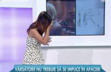 O prezentatoare din România a leşinat în timp ce prezenta rubrica Horoscop în direct la TV