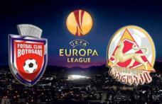 FC Botoșani a avut parte de un debut trist în cupele europene. 1-1 FC Botoșani - Spartaki Tskhinvali