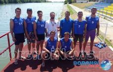Dorohoianul Laurențiu Boteanu fruntaș la Campionatul Național Universitar de Kaiac Canoe - FOTO