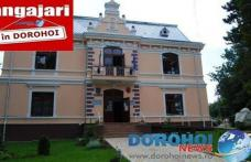 Primăria Dorohoi scoate la concurs un post de consilier la compartimentul urbanism. Vezi detalii!