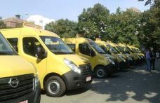 Cele 42 de microbuze școlare sosesc la Botoșani la sfârșitul săptămânii