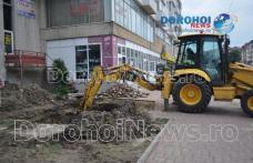 Autoritățile își cer scuze pentru disconfortul creat. Avaria din zona Podul Botoșaniului va fi remediată - FOTO