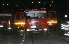 Maşină cuprinsă de flăcări pe strada Pacea din Botoşani