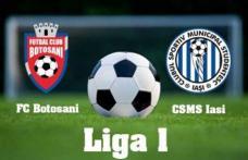 Prima victorie pentru echipa lui Grozavu - FC Botoşani - CSMS Iaşi 1-0