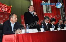 Primarul Dorin Alexandrescu, reales președinte al PSD Dorohoi - FOTO