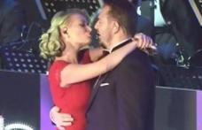 Camerele TV i-au surprins pe Horia Brenciu şi pe Delia cum se sărută