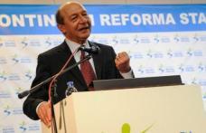 Băsescu, noul preşedinte al Mişcării Populare: Sunt un om care nu mai vrea nimic pentru el