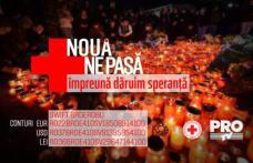 """Pro TV și Crucea Roșie Română lansează campania """"Nouă ne pasă"""", pentru a ajuta victimele din Colectiv. Cum poți dona"""