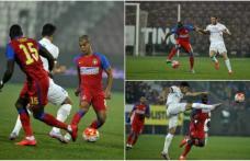 Steaua - FC Botoşani 5-3. Campioana a câştigat meciul cu cele mai multe goluri din acest sezon