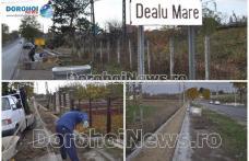 S-au demarat lucrările pentru construirea unei alei ce va lega Dealu Mare de municipiul Dorohoi – FOTO