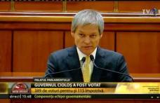 Cioloş, după ce a primit votul de încredere al Parlamentului: Veţi avea în guvern un partener deschis