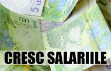 Bugetarii primesc salarii mai mari începând de azi. Lista celor care vor beneficia de majorări