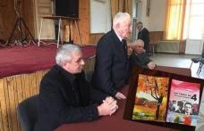 Costică Macaleţi prezent la aniversarea de 93 de ani cu 29 de cărţi a colonelului în retragere Ilie Pascal - FOTO