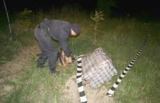 Trei persoane reținute pentru contrabandă cu țigari la frontiera cu Ucraina