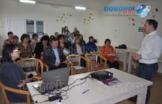 """""""Centre de Consiliere Mediere şi Formare Profesională"""" proiect implementat de către DAS Dorohoi, în parteneriat cu Fundaţia CORONA"""
