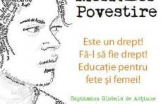 """Campania Globală pentru Educaţie la Grupul Scolar """"Alexandru Vlahuţa"""" Şendriceni"""
