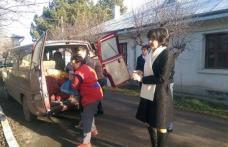 Femeile social-democrate vin în ajutorul bătrânilor de la căminul din Trușești - FOTO