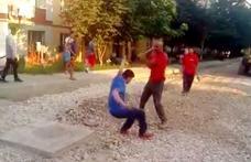 Primim la redacţie - Se întâmplă în Dorohoi! VIDEO - Angajații unei firme care se ocupă cu reabilitarea străzilor, fac legea