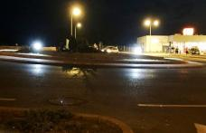 Primim la redacție - Atenție la... BEC! Lumini ciudate în noapte la Dorohoi! - FOTO