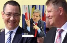 Sondaj PSD: Iohannis, Ponta și Cioloș, cei mai credibili lideri naționali pentru botoșăneni