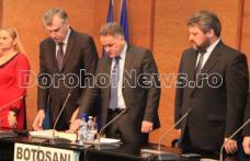 Dan Nechifor, noul prefect al județului Botoșani, învestit astăzi în funcție