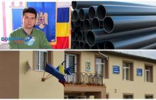 Comuna Hilișeu Horia îşi face reţea de alimentare cu apă, cu bani din bugetul local